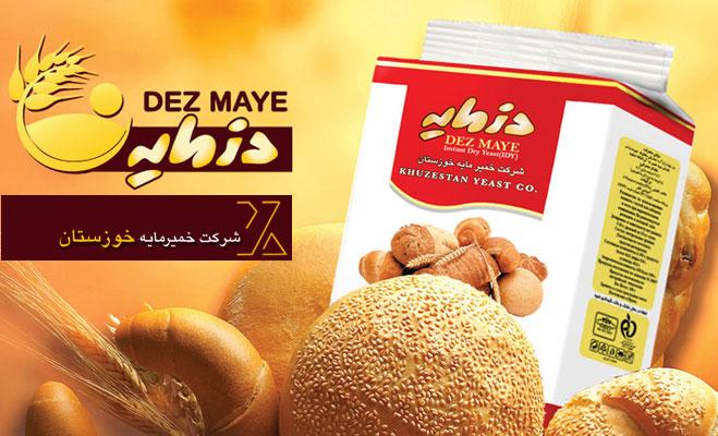 وب سایت شرکت خمیرمایه خوزستان